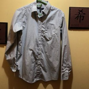 Joseph & Feiss Gray Dress Shirt